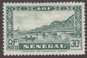 Senegal 151 Faidherbe Bridge, St. Louis 1935
