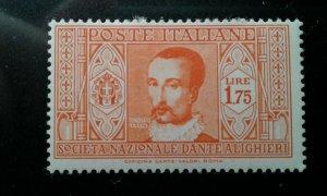 Italy #276 mint hinged e199.5243