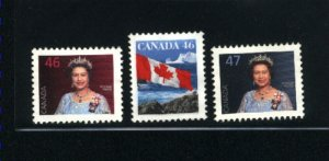 Canada #1681-83    -1  used VF 1998  PD