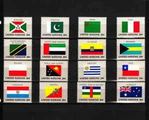 UNITED NATIONS 425-440 MNH 2019 SCOTT SPECIALIZED CATALOGUE VALUE $4.00