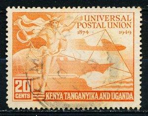 Kenya Uganda & Tanzania #94 Single Used