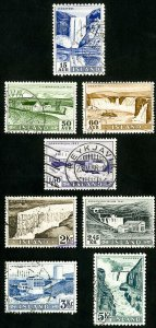 Iceland Stamps # 289-96 Used VF