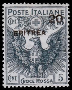 Eritrea Scott B4 (1916) Mint LH VF, CV $32.50 B
