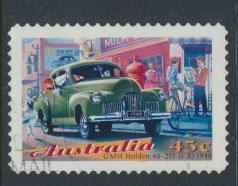 Australia SG 1672  Used self adhesive