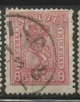 Norway Scott #15 Stamp - Used Single