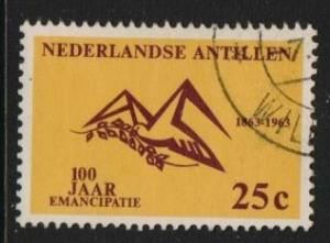 Netherlands Antilles 1963 used abolition slavery