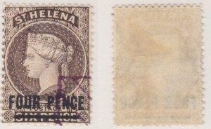 St. Helena #38 used CV $35