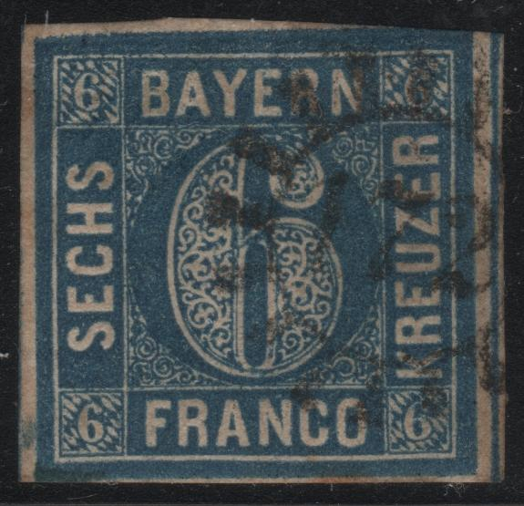 Bavaria 11 Numeral 172 Cancel