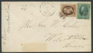TEXAS FALLS COUNTY (1870's Marlin)