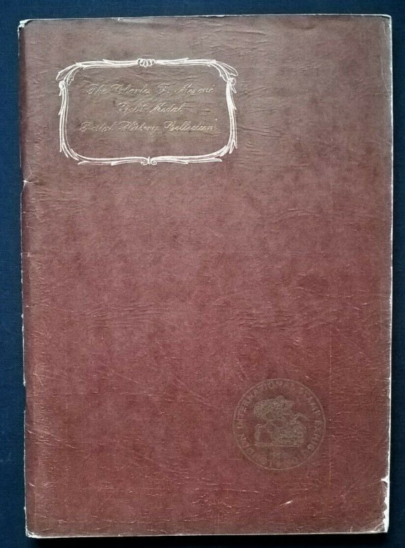 1950 Auction Catalogue CHARLES F MERONI FOREIGN POSTAL HISTORY London Inter. Ex.