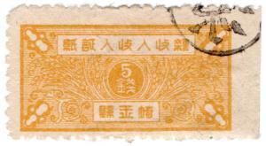 (I.B) China Revenue : Rice Duty 5c