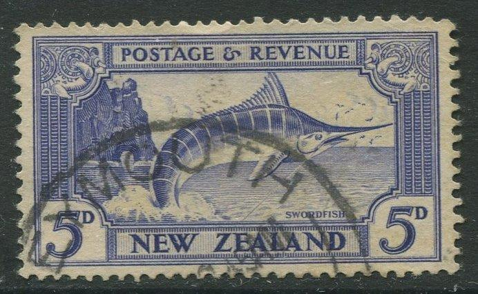 STAMP STATION PERTH New Zealand #192 - Definitive Issue Used Wmk 61 CV$38.00