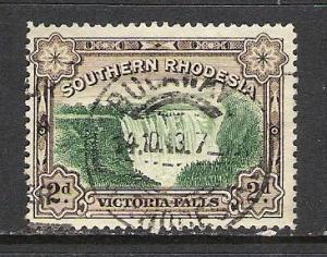 SOUTHERN RHODESIA 31 VFU FALLS 92D