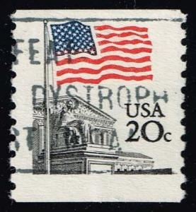 US #1895 Flag over Supreme Court; Used (0.25)