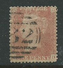 Great Britain - QV SG 39
