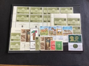 Israel Mint Never Hinged Stamps  R38819