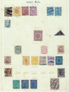 COLOMBIA States Early Imperf Perf M&U (24 Stamps) (As 783