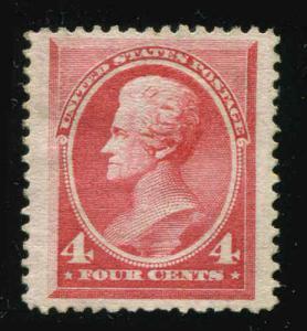 US Stamp # 215 4¢ Jackson  Mint No Gum 1888