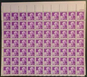 U.S. #945* NH  Full sheet  Thomas A. Edison issue