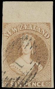 New Zealand Scott 9h Gibbons 14 Used Stamp