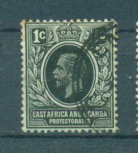 East Africa & Uganda Protectorate sc# 40 (5) used cat value $2.10