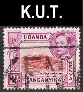 Kenya Uganda Tanzania Scott 81 UNLISTED perf 13 3/4 x 13 1/4 VF used.