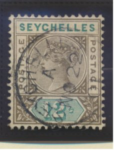 Seychelles Stamp Scott #8, Used