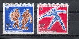 French Polynesia 203-204 MH