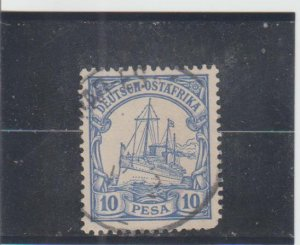 German East Africa  Scott#  14  Used  (1900 Hohenzollern)