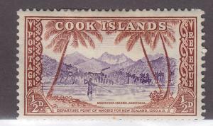 Cook Islands 131 Ngatangiia Channel 1949