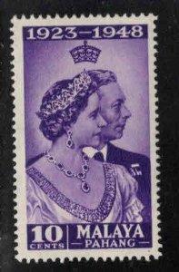 MALAYA-Pahang Scott 44 MH* 1948 stamp