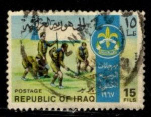 Iraq - #460 Boy Scouts - Used