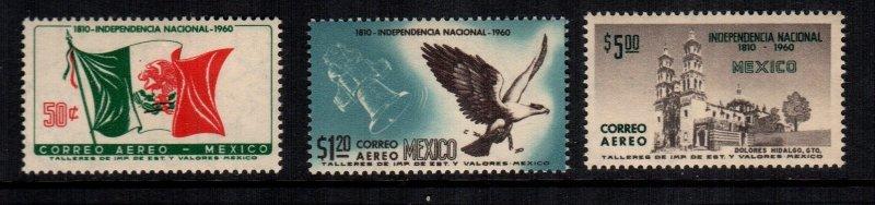 Mexico  C250 - C252  MNH cat $ 7.00 111