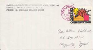 Caroline Islands 13c Energy Conservation 1977 Ponape, Caroline Islands USPO t...