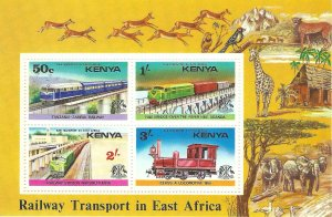 Kenya 67a   SS   Mint NH VF 1976 PD