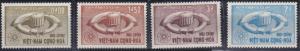 Vietnam 231-234 MNH (1964)