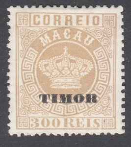 TIMOR overprint on Macau  An old forgery of a classic stamp.................C955