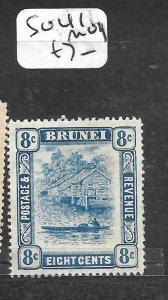 BRUNEI (PP0304B)  RIVER SCENE 8C  SG 41    MOG