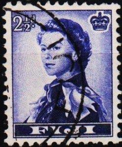 Fiji. 1954 2 1/2d S.G.284 Fine Used