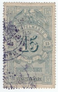 (I.B) Germany Revenue : Prussia Duty 15M