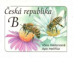 Czech Republic 2020 MNH Stamps Honey Bee Insects Flowers