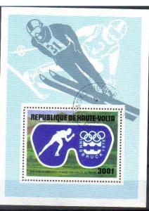UPPER VOLTA, 1976 CTO 300f. MS Olympics Innsbruck