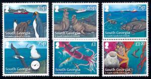 [66834] South Georgia 2012 Marine Life Fish Birds Penguins Sea Elephant  MNH