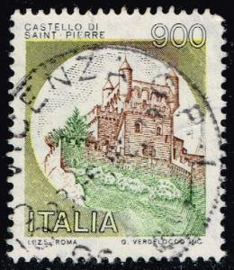 Italy #1430 St. Pierre Castle; Used (0.25)