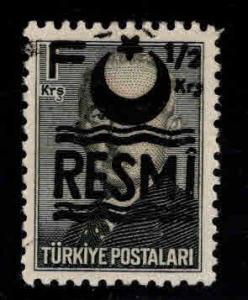 TURKEY Scott o38b MNH**  official overprint