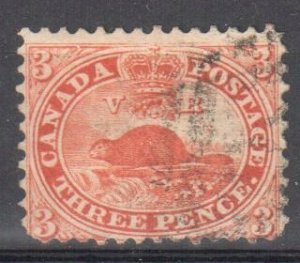 Canada #12 VF Used C$1600.00 -- PERFECT NO FAULTS