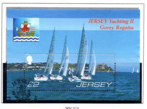 Jersey Sc 1266 2007 Gorey Regatta stamp sheet used