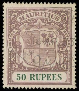 Mauritius Scott 200 Gibbons 222 Used Stamp
