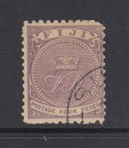 Fiji, Scott 43 (SG 58a), used