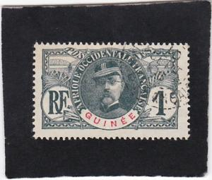 French  Guinea  #   33   used